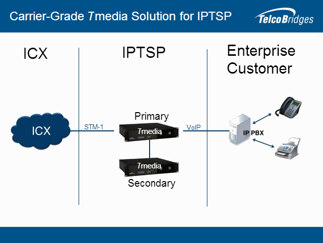 Carrier Grade Gateway Solution for IPTSP