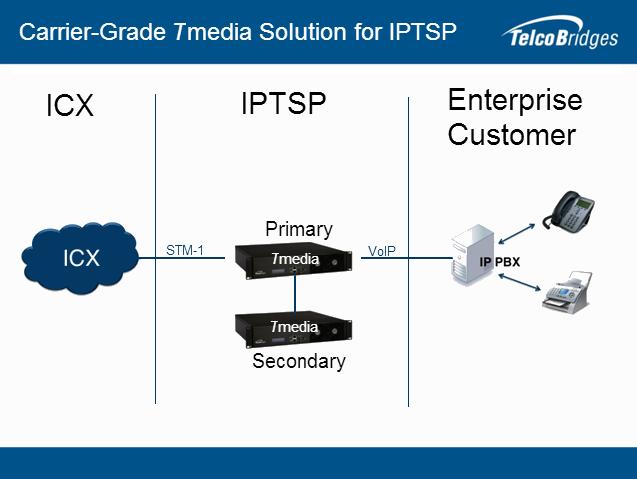 Carrier Grade Gateway Solution for IPTSP