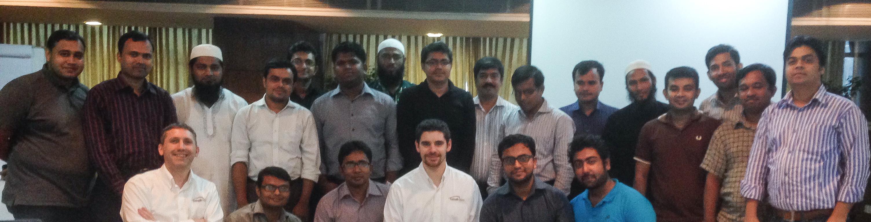 TB Academy training in Bangladesh Group Photo